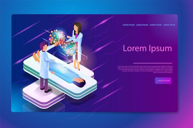 Augmented reality im krebsdiagnoseweb-banner