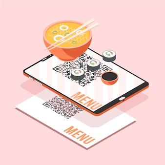 Augmented reality konzept illustration