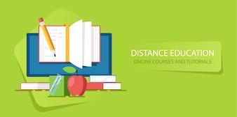 Ausbildung im Internetkurs und Webinar, Fernunterricht