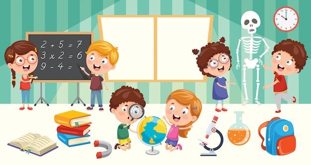 Ausbildung von kleinen studenten