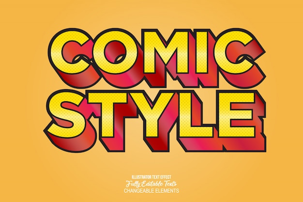 Ausführliche effekt-videospiel-comic-art des text-3d