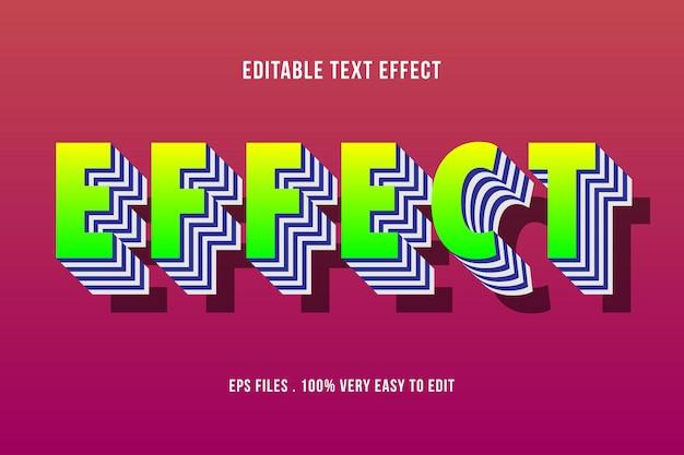 Ausgefallener geschichteter texteffekt, bearbeitbarer text