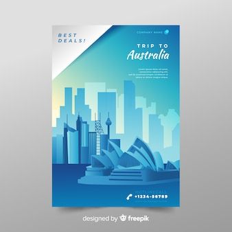 Australien-flyer