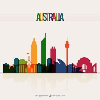 Australien skyline