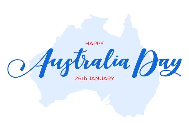 Australien tagesbeschriftung