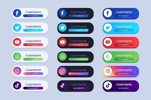 Auswahl an infografik-elementen