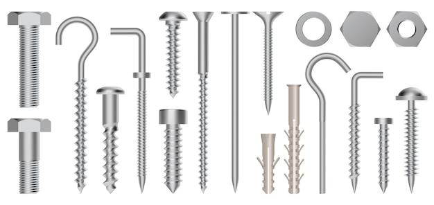 Auswahl der schraubenkonstruktionen