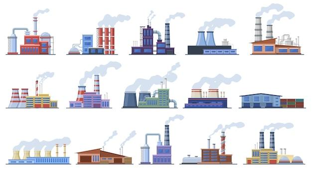 Auswahl von industriegebäuden
