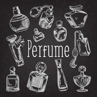 Auswahl von parfümabbildungen