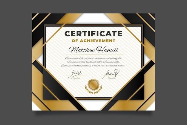 Auszeichnung für diplomvorlagen