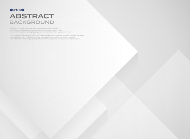 Auszug des breiten quadratischen weißbuchmusters