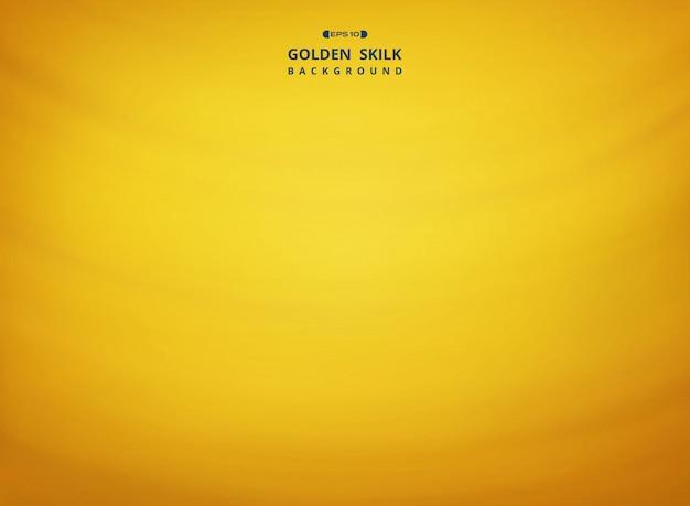 Auszug des goldenen silk musterhintergrundes.
