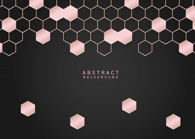 Auszug im geometrischen hintergrund-design