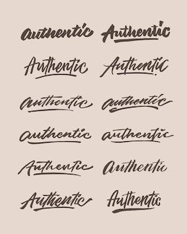 Authentische handschrift