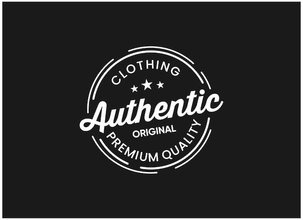 Authentische inspirationen für das design von abzeichen-logos