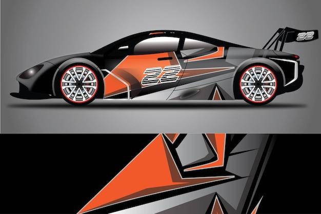 Auto-aufkleber-vektor-wrap-ilustration