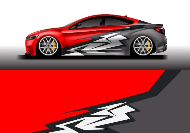Auto aufkleber wrap design für fahrzeug