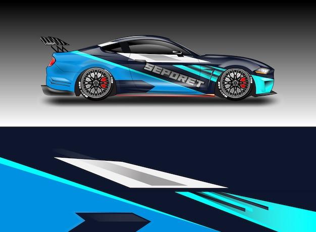 Auto aufkleber wrap vektor-designs
