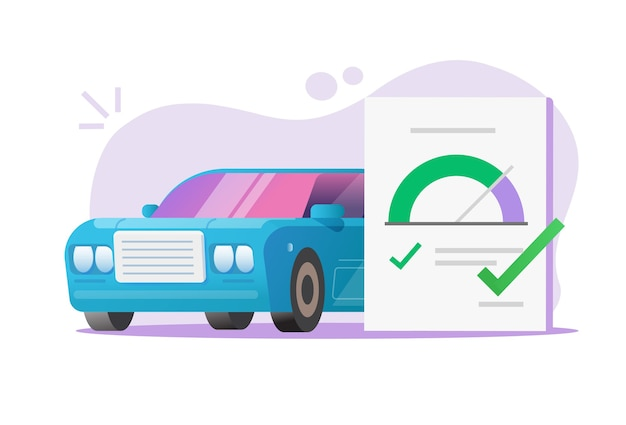 Auto auto checkliste testformular dokument bericht