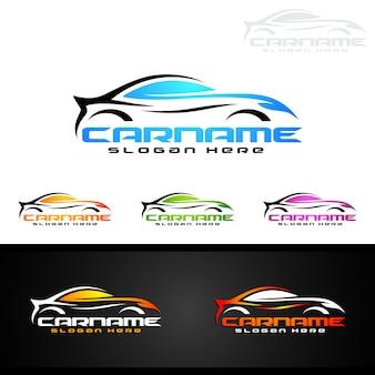 Auto auto logo für sportwagen