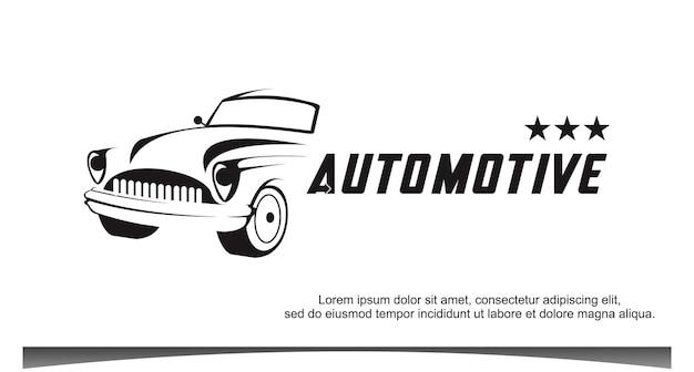 Auto-automobil-logo-vorlage-vektor-illustration