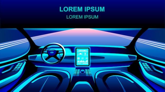 Auto cockpit für künstliche intelligenz