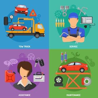 Auto dienstleistungen