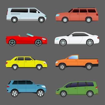 Auto fahrzeugtransportset