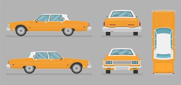 Auto in verschiedenen ansichten eingestellt