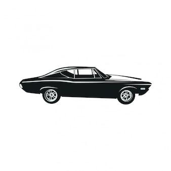 Auto klassisches logo