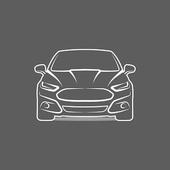 Auto logo symbol emblem template design vector illustration