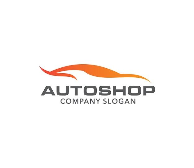 Auto-reparatur-design-vektor