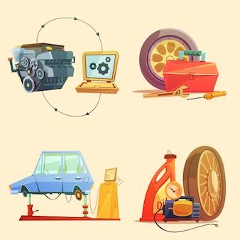 Auto-service-werkstattzentrum