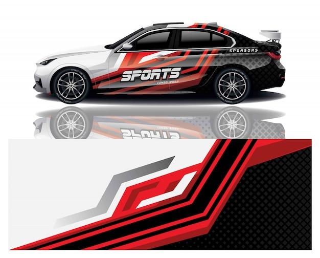 Auto sport aufkleber wrap