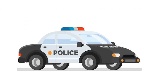 Auto von polizisten