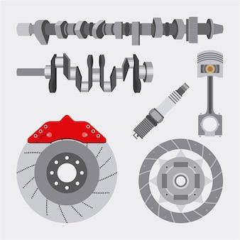 Autoindustrie ersatzteile reparatur ausrüstung auto