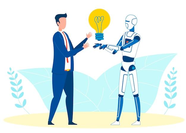 Automatisch generierte idee