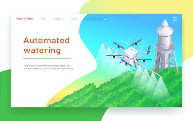 Automatisierte bewässerung