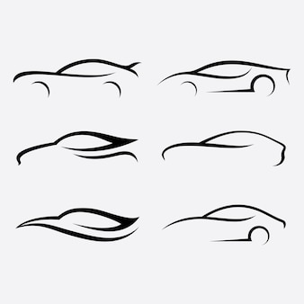 Automobil-auto-logo-vektor-illustration auto-auto-logo