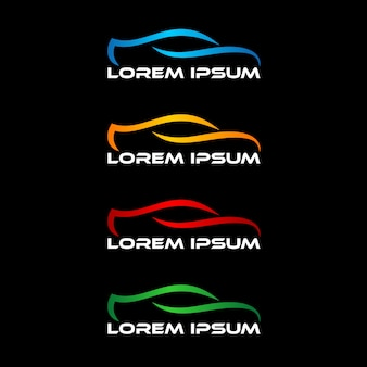 Automobil-logo-design-vorlage