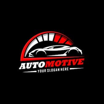 Automotive-logo Premium Vektoren