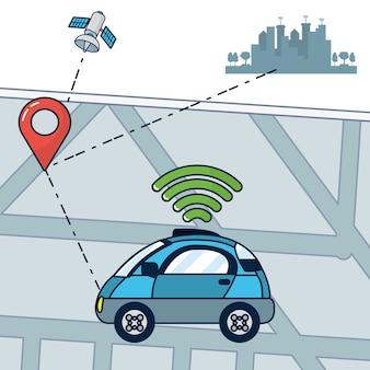 Autonome car-technologie