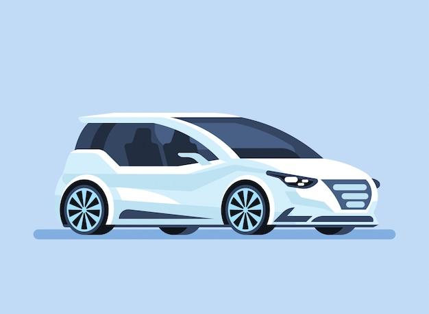 Autonomes selbstfahrendes auto
