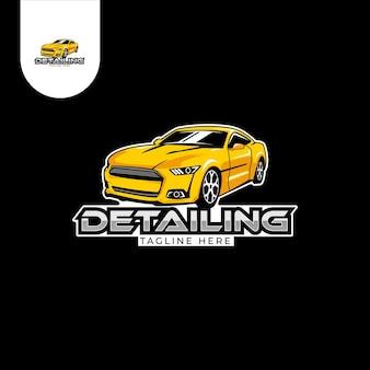 Autorennen offroad-logo Premium Vektoren