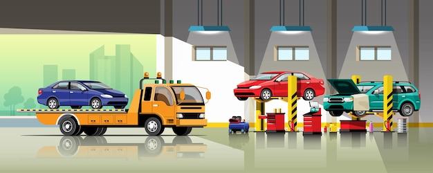 Autoreparatur- und wartungsservice