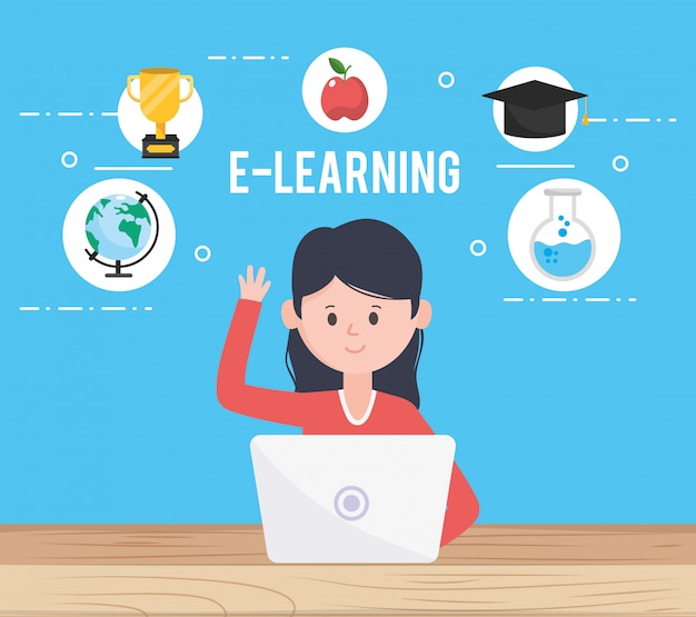 Avatar frau und online lernen