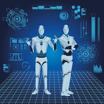 Avatar für humanoide roboter