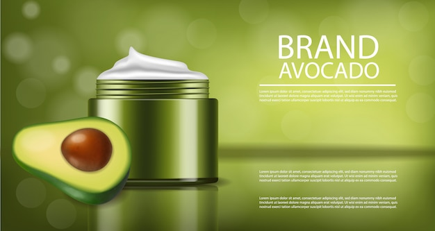 Avocado-creme-produkt