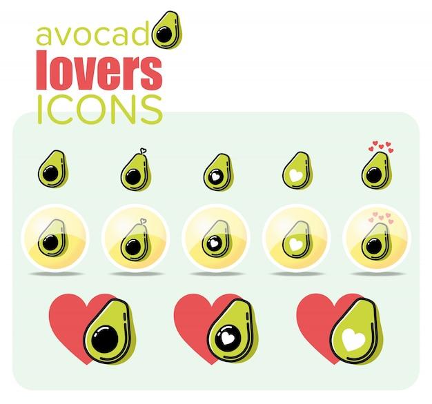 Avocado-liebhaber-symbol