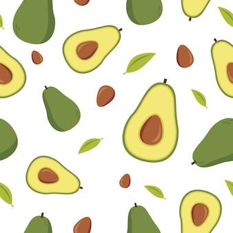 Avocado-muster
